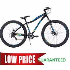 "Mountain Bike 29x3"" Black Fat Tire Men's Bicycle Disc Brake Shimano 21 Speed"