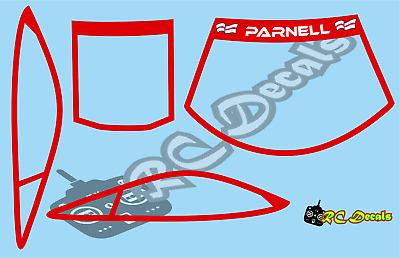 Mardave Ore Decals Choice of Colours Fantom Schumacher Atom Zen Racing