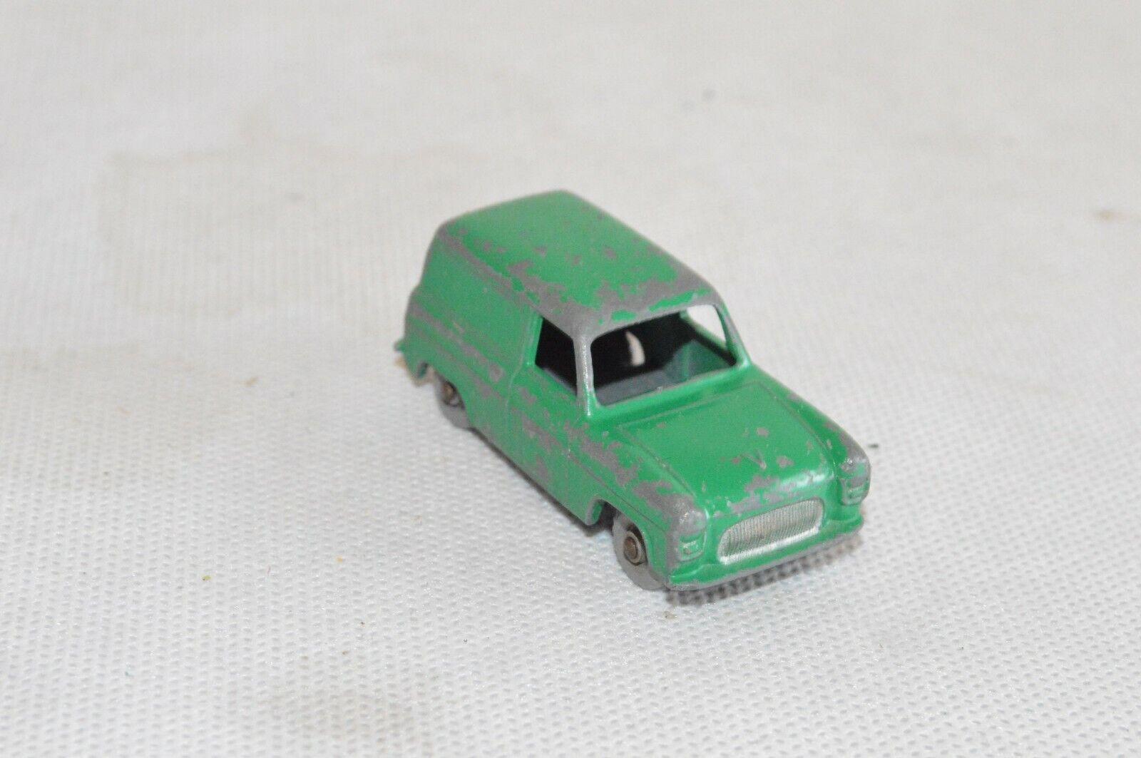 Matchbox regular Wheels nº 59 a ford Thames van dark verde SPW n. d Lesney l2