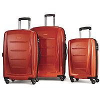 Samsonite Luggage Winfield 2 Fashion HS 3 Piece Set (Orange)