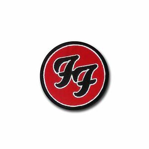 Foo-Fighters-Classic-Design-Hook-amp-Loop-Backed-Embroidered-Patch-Foo-Music
