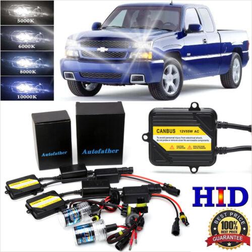 9005 H11 For Chevy Silverado 1500 2500 2007-2015 High//Low Beam HID Xenon KIT USA