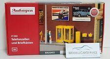 Auhagen 41662 H0 Telefonzellen und Briefkästen  NEUHEIT 2020 OVP~