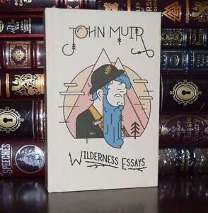 Wilderness essays by john muir brand new hardcover collectible gift