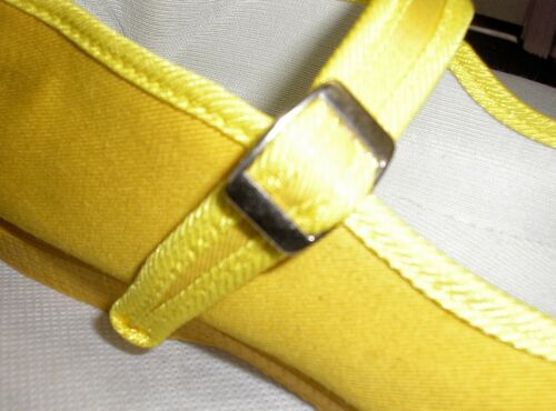 Mary Jane Cotton Canvas Yoga Shoes-Made In China-Yellow