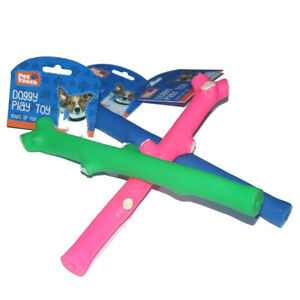 Dog-Squeaky-Tree-Branch-Stick-Toy-Puppy-Fetch-Bone-Retrieve