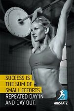 Bodybuilding Fitness Motivational Gym Poster 32x24 B04