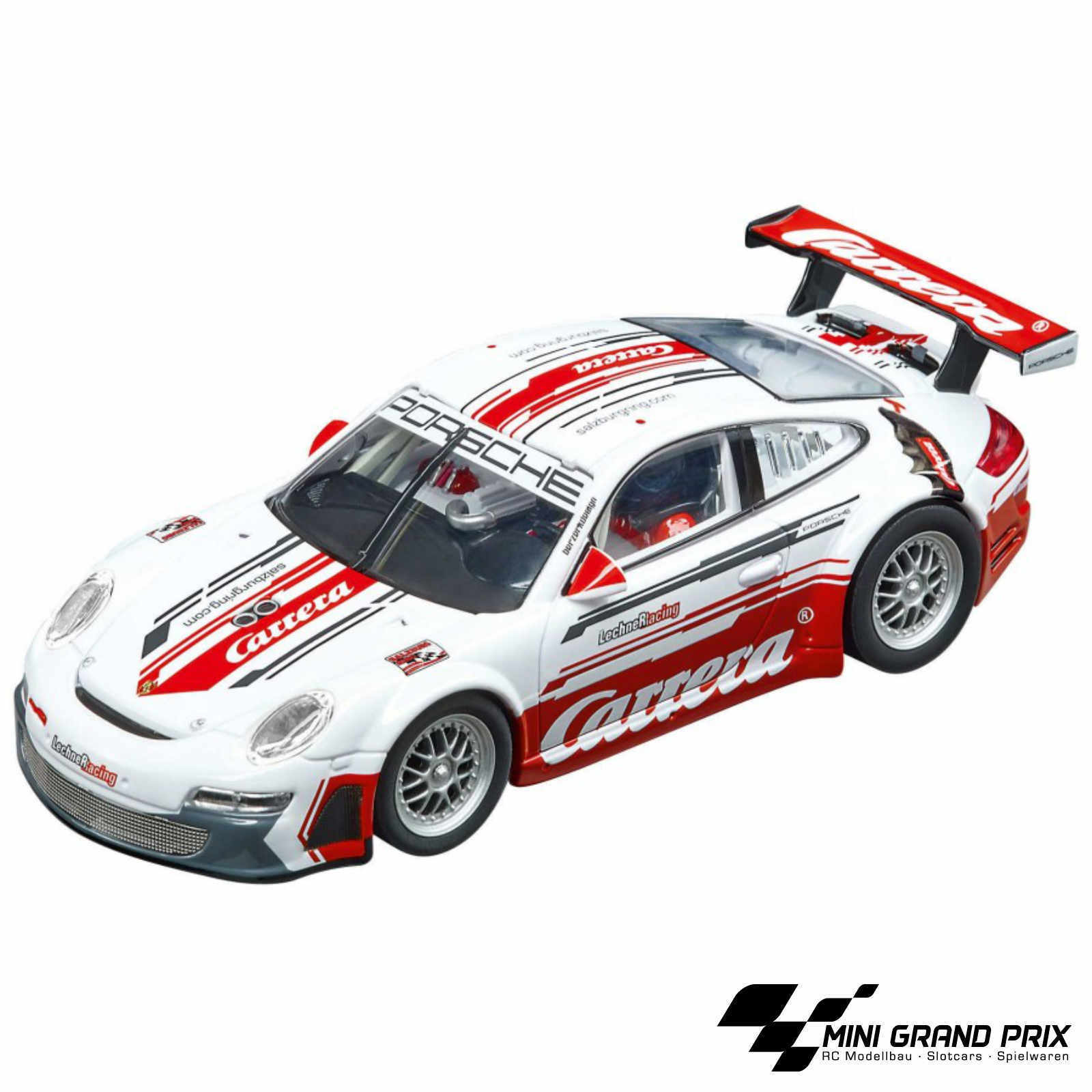 Carrera Evolution Porsche 911 GT3 RSR Lechner Racing   CARRERA RACE TAXI   27566