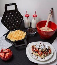 Bubble Waffle Maker Breakfast Snacks Dessert Egg Taste Kitchen Cookware Pancake