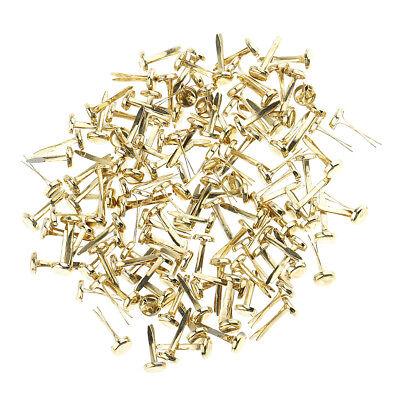 """Brads /""""BABY BLUE/"""" 40 x 5mm ROUND Split Pins Craft Scrapbooking"""
