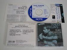 DUKE PEARSON/TENDER FEELIN'S(BLUE NOTE TOCJ-4035) JAPAN CD+OBI