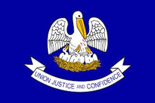 Louisiana Flag nylon material Made in the USA