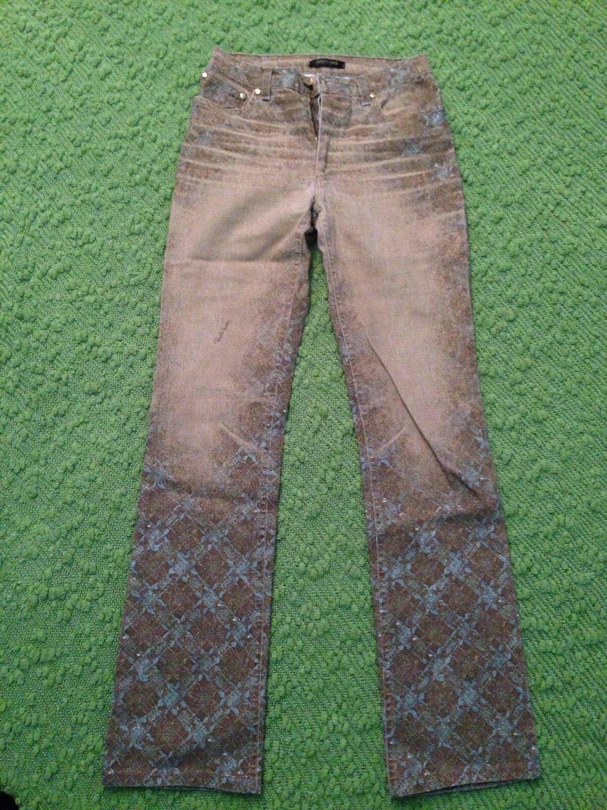 ROBERTO CAVALLI Womens  Jeans Pants print Size XS