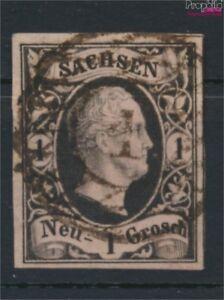 Sachsen-4I-Pracht-gestempelt-1851-Friedrich-August-9158154