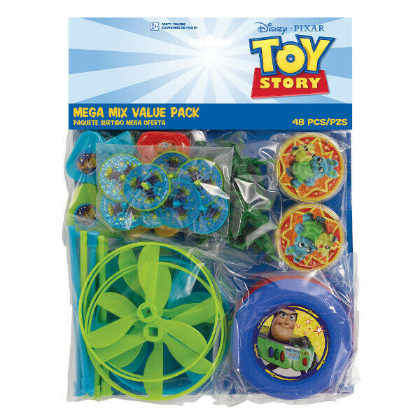 TOY STORY 4 FAVOR PACK Kids Birthday Party Supplies ~ 48 pc Toys Woody Buzz