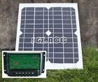 10W 12V solar panel battery charger for motorhome caravan camper boat car UK