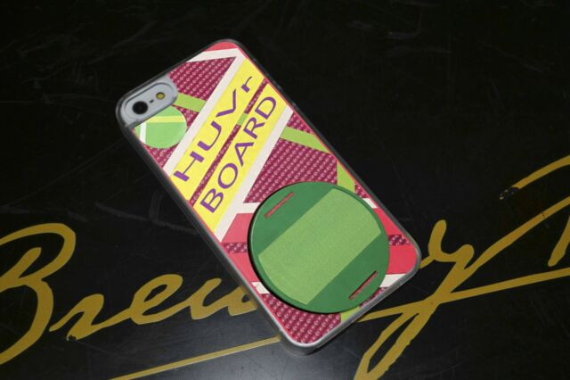 Back To The Future Hover Board Hard Phone Case Fits iPhone 4 4s 5 5s 5c 6