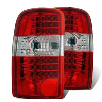 Cg Chevy Tahoe / Suburban / Gmc Denali 00-06 Led Tail Light G2 Red/clear on sale