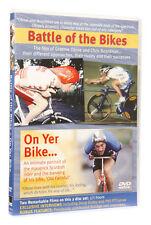 CYCLING DVD, BATTLE OF THE BIKES & ON YER BIKE, THE GRAEME OBREE STORY