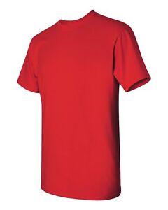 mayor granel de a Xl 12 adultas 5000 Xxl al rojas M camisetas de Gildan S por lote algodón L pesado qqtUOPxp7w