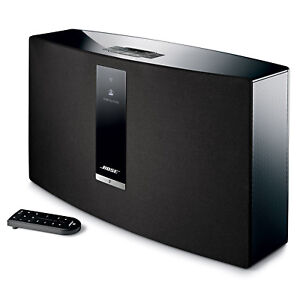 bose soundtouch 30 series iii wireless music system black 17817694469 ebay. Black Bedroom Furniture Sets. Home Design Ideas