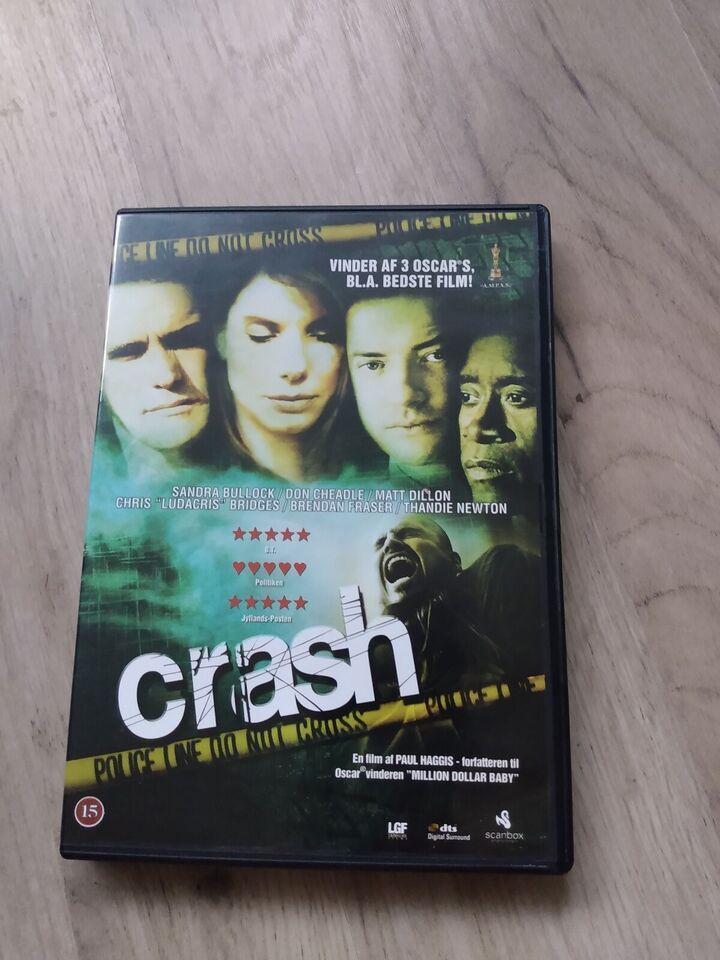 Crash, DVD, drama