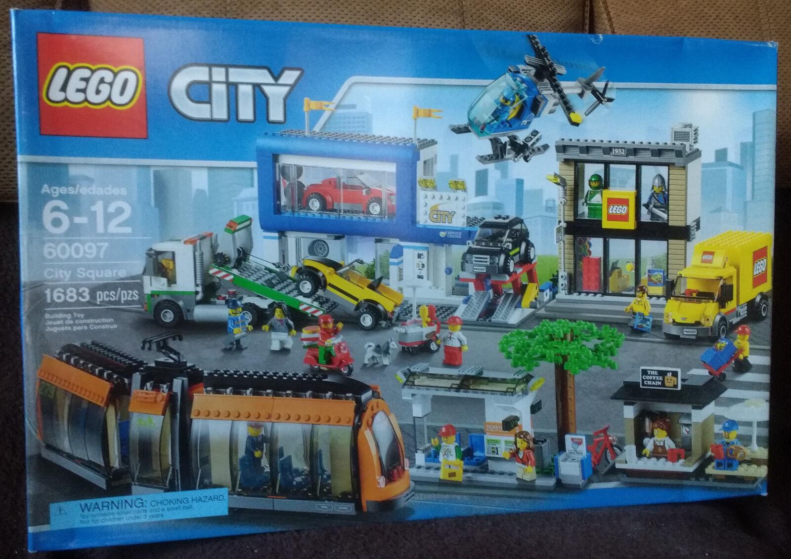 migliore marca LEGO città Square (60097) (60097) (60097) nuovo MISB  acquisto limitato