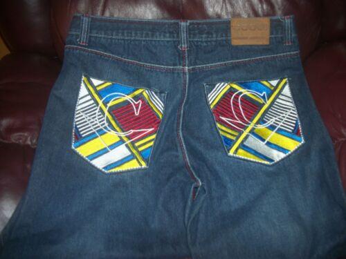 Excellent Coogi 38x34 Authentic Cool Hommes Très Rare Jeans Etat 5awXx7I7qn