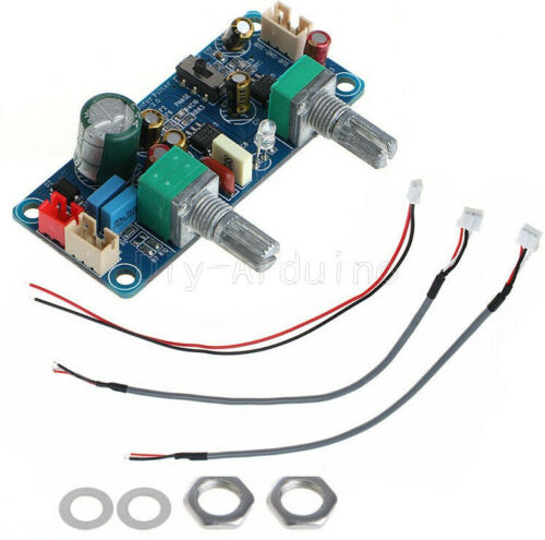 NEW Single Power DC 9-32V Low Pass Filter Bass Subwoofer Pre-AMP Amplifier Board