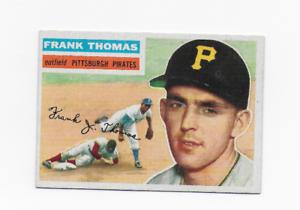 1956-TOPPS-NO-153-FRANK-THOMAS-PITTSBURGH-PIRATES-GRAY-BACK