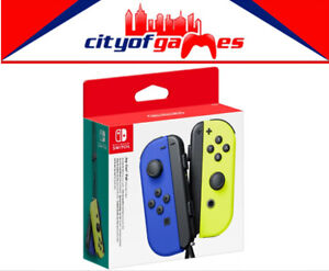 Details about Joy-Con Pair Controller - Neon Blue/Neon Yellow Nintendo  Switch New Pre Order