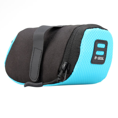 Bicycle Bike Waterproof Storage Saddle Outdoor Bag Seat Cycling Tail Rear Pouch