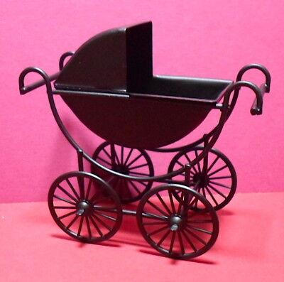 Baby/'s Cochecito Para 1:12 Escala Casa De Muñecas Cochecito d1970