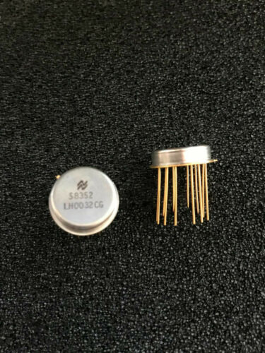 Ultra Fast FET-Input Operational Amplifier LH0032CG National Semic TO8-12