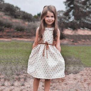1c5fed352b3ff Tout-Petit Robe Nourrisson Enfant Petite Fille Coeur Princesse de ...