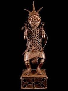 Jaeger-Bronze-Statue-Benin-Nigeria-14-Kilo