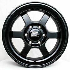 17x85 Mst Time Attack Truck 6x556x1397 12 Matte Black Wheels Rims Set4 11
