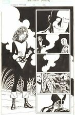 Wolverine: First Class #12 p.22 Kitty Pryde & Professor X 2009 by Scott Koblish