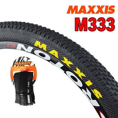 1PC MAXXIS M333 MTB Bicycle Tyre 35-65PSI Wheelset Rim M333 PACE Tires 60TPI