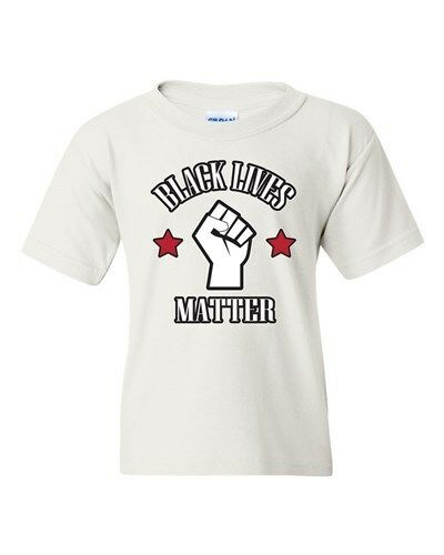 Black Lives Matter Support Protest Police Los Angeles DT Youth Kids T-Shirt Tee
