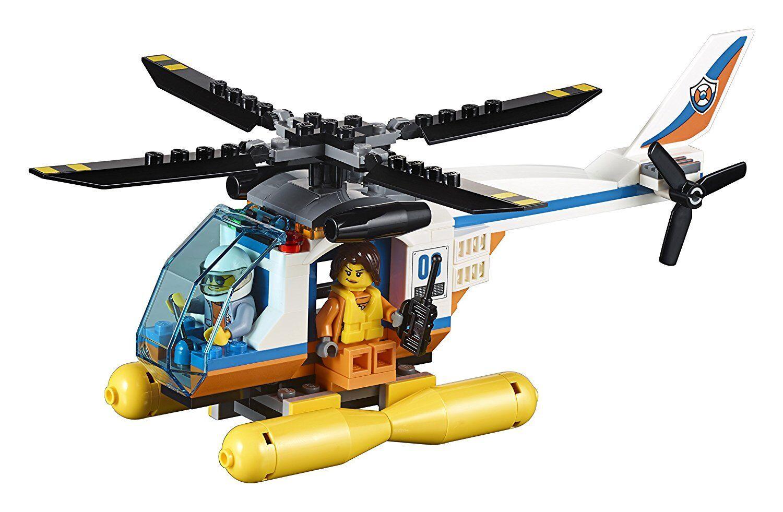 Lego City City City 60167 Coast Guard Head Quarters Ship Octopus Present NISB 70d594