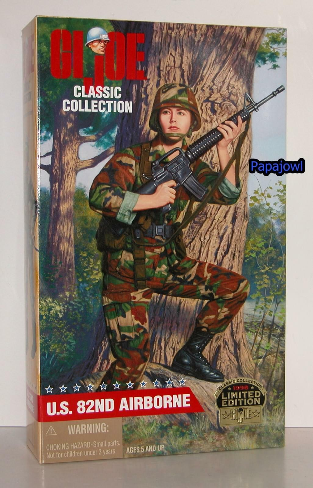 GI JOE Classic Collection US 82nd Airborne 12  1 6th Action Figure 1998 Hasbro