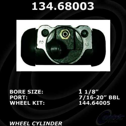 Drum Brake Wheel Cylinder-RWD Front-Left//Right Centric 134.68003