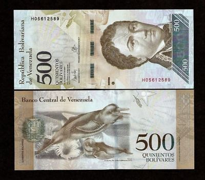 VENEZUELA 2 BOLIVARES 2018 P NEW PARROT UNC LOT 100 PCS 1 BUNDLE