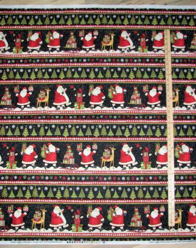 Santa/'s Gifts Debbie Mumm Sampler Christmas Fabric by the 1//2 Yard   #67489