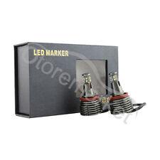 CREE LED Light 80W H8 HID Xenon 6000k Angel Eyes Halo Ring E60 E61 E70 E90 E92