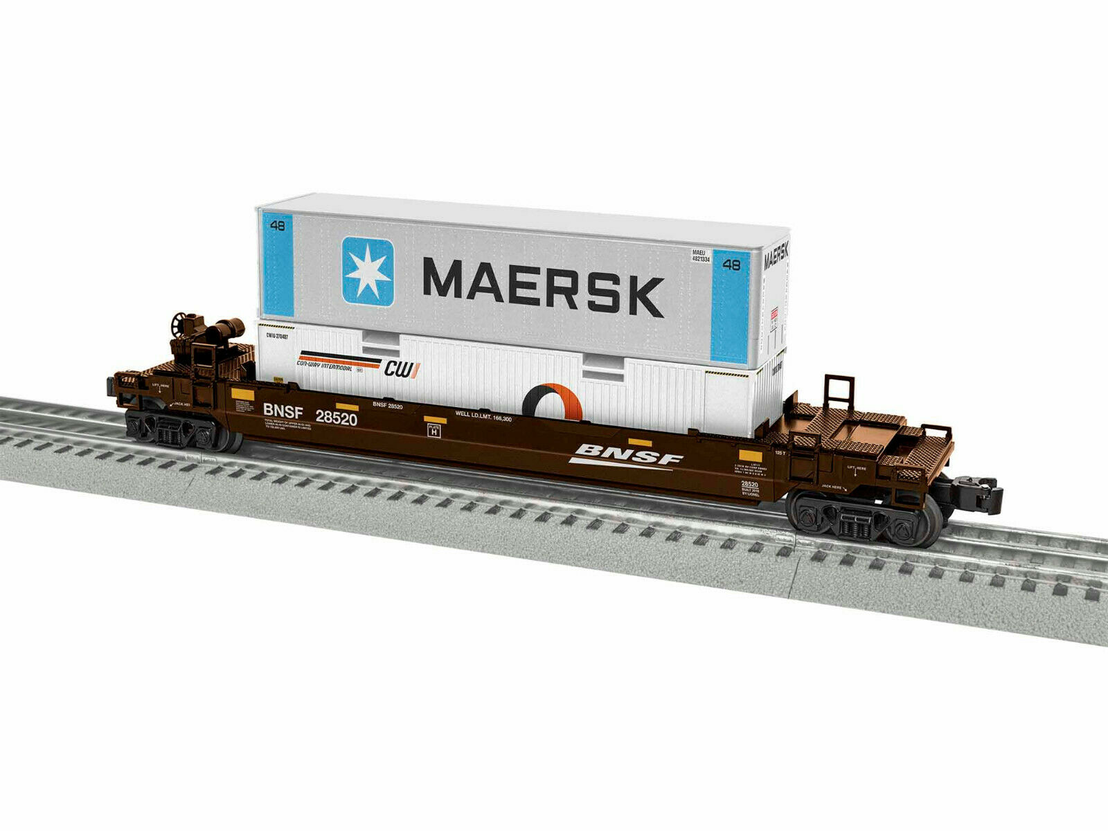 LIONEL  1928520 BNSF MAXI STACK