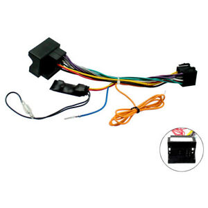 Details about Peugeot CANBus Car Radio Stereo ISO Wiring Harness Lead on