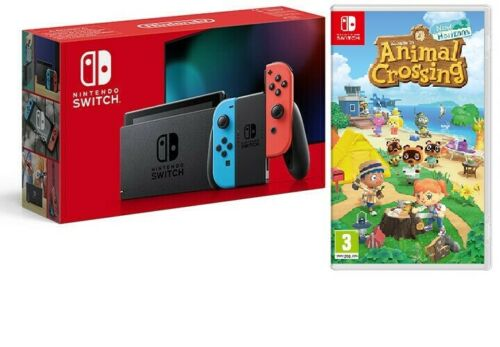 nintendo switch + animal crossing bundle offerte