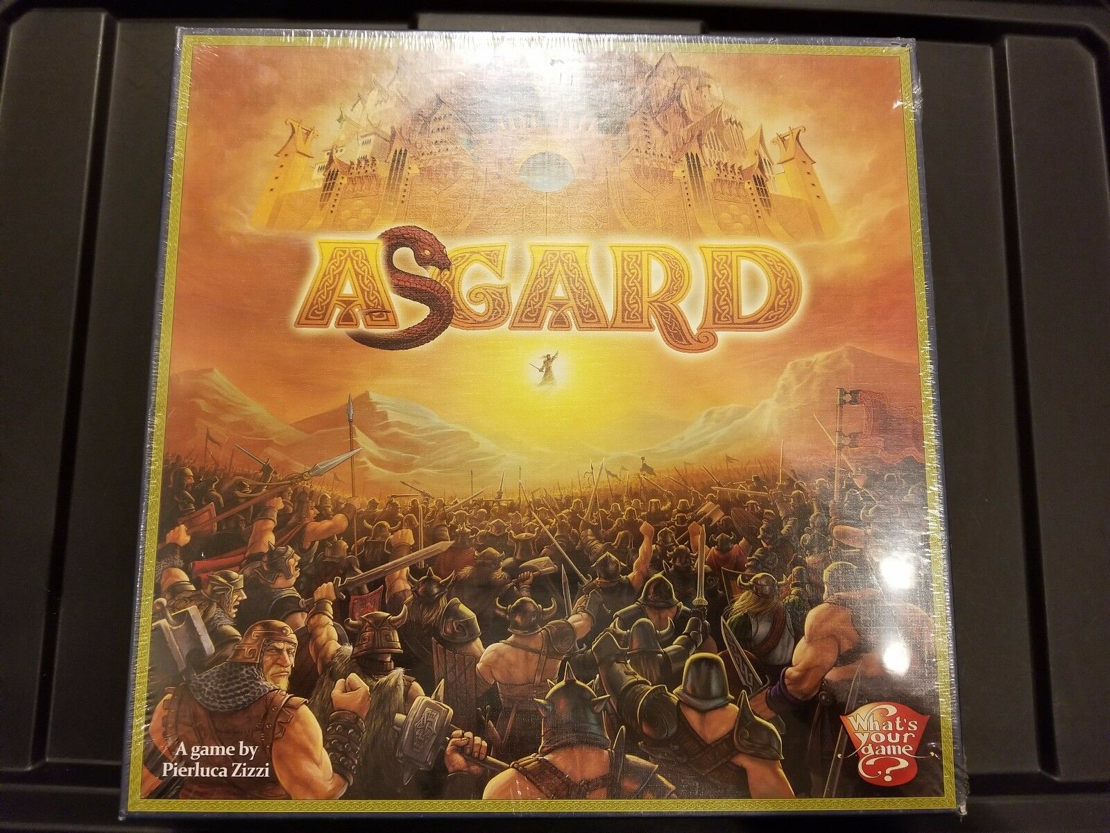 Asgard - What's Your Game Games - Board Game New   NIB